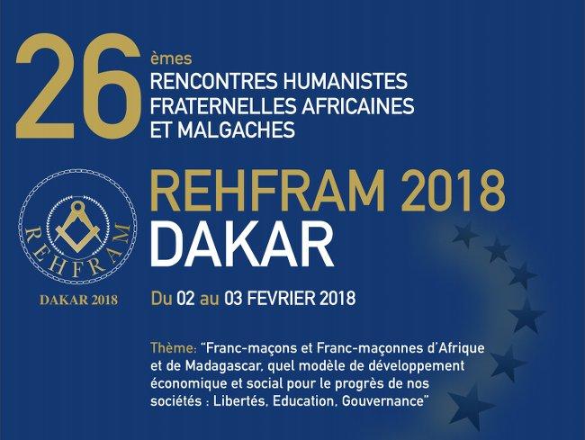 REHFRAM : la «Coalition non à la Franc-Maçonnerie» demande à l'Etat du Sénégal d'ordonner l'interdiction formelle de cette manifestation (DECLARATION)
