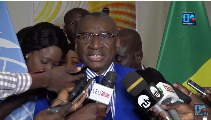 """Sidiki Kaba sur la chronique de Babacar Justin Ndiaye : """"Les lasers du Lundi, c'est des lasers"""""""