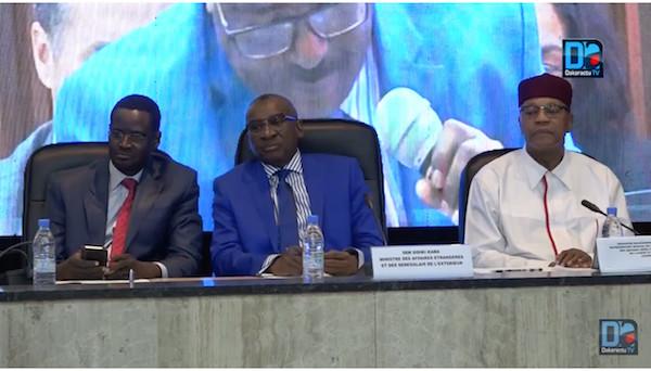 """Sidiki Kaba, ministre des Affaires étrangères : """"Au Conseil de sécurité de l'Onu, le Sénégal a défendu ses positions..."""""""