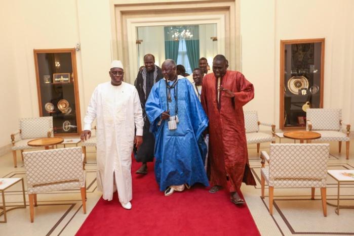 AUDIENCE AU PALAIS : Le président Macky Sall a reçu cheikh Ndigueul Fall