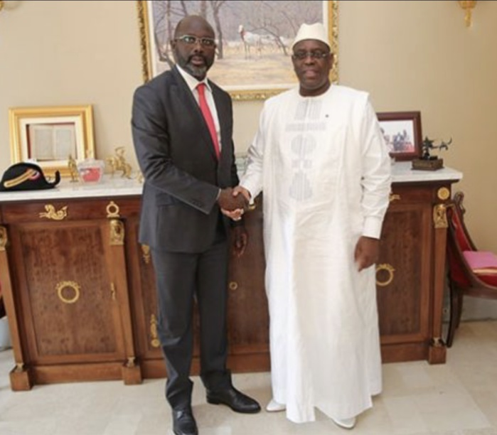 Prestation de serment de George Weah : Macky Sall attendu demain à Monrovia