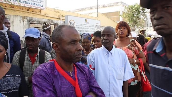 ZIGUINCHOR : Sit-in des travailleurs municipaux pour réclamer jusqu'à 13 mois d'arriérés de salaires