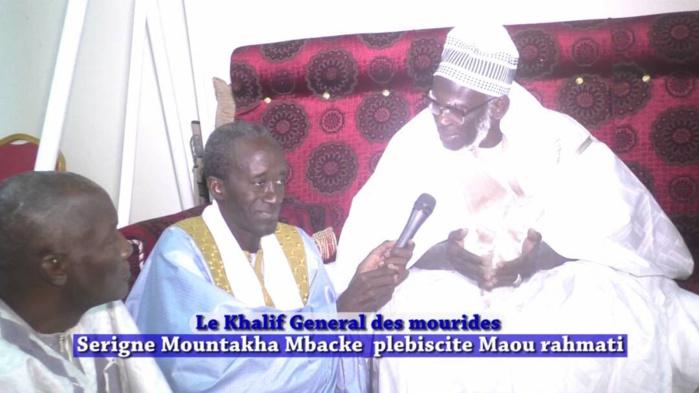 TOUBA - Serigne Mountakha confirme Serigne Cheikh Aliou à la tête de Maou Rahmati et s'engage à ses côtés