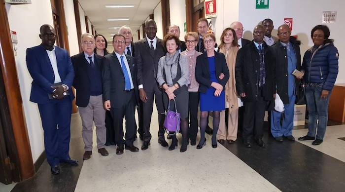 Gestion des domaines prioritaires : Le ministre Yaya Abdoul Kane procède à la signature d'accords entre le groupe d'intérêt communautaire du Bosséa et la région Calabre en Italie.