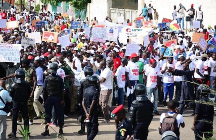 Grande marche nationale du 09 février : Les organisateurs préparent une série de manifestations en prélude de l'événement