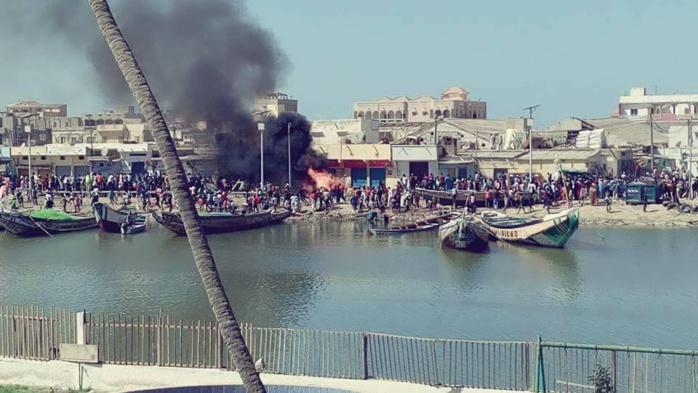 Meurtre d'un pêcheur à Guet-Ndar : Des cantines de la communauté mauritanienne brûlées presque 30 après les évènements de 1989 !