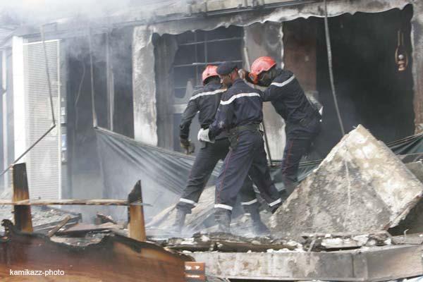 Incendie à Kaolack : Un atelier de menuiserie et un dépôt de charbon partent en fumée