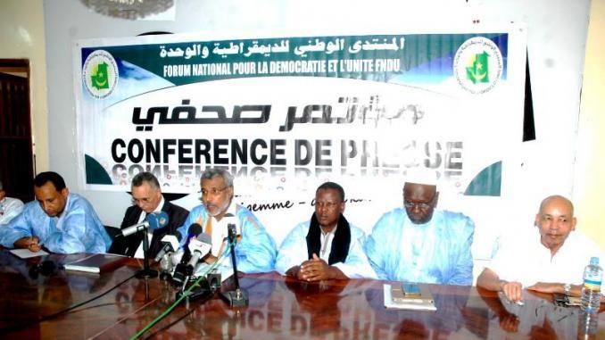 L'Opposition Démocratique Mauritanienne « s'élève contre tout acte et tout agissement de nature à perturber les relations mauritano-sénégalaises et les relations avec les voisins en général ».