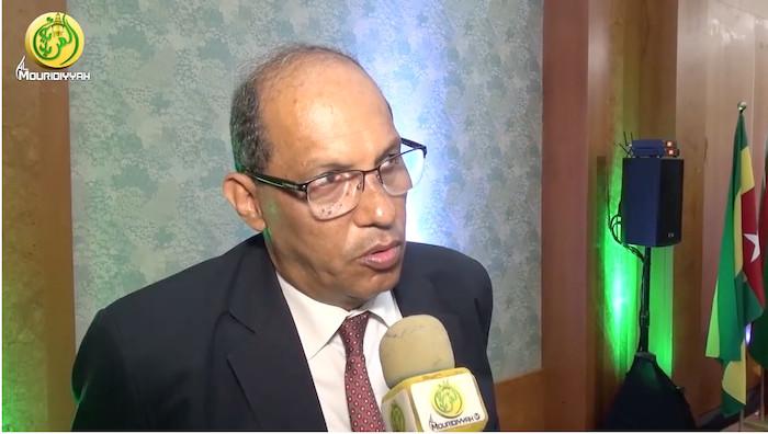 TOUBA - L'ambassadeur d'Egypte au Sénégal a rencontré le Khalife Général des Mourides