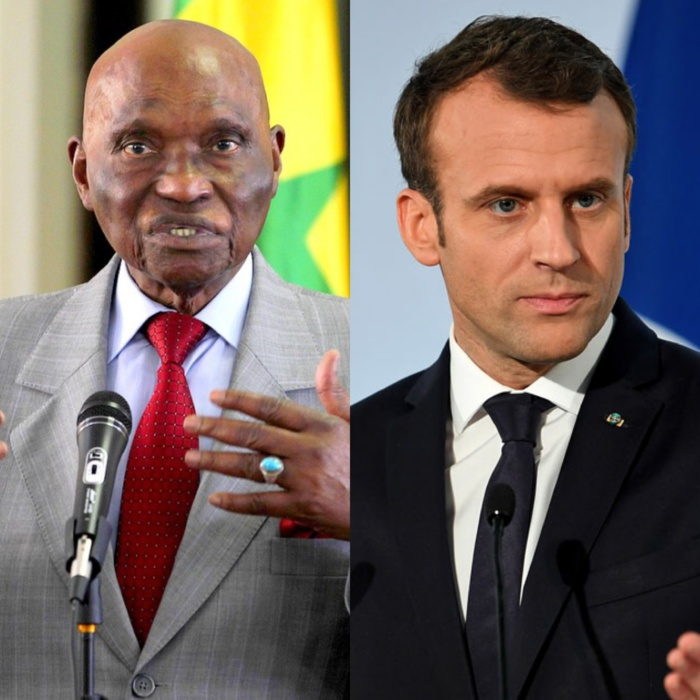 VISITE OFFICIELLE AU SENEGAL : Me Abdoulaye Wade écrit au Président Emmanuel Macron