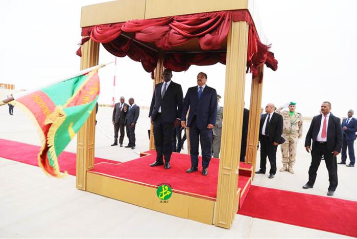 A la tête d'une forte délégation, le président Macky Sall en Mauritanie pour une visite de travail de deux jours