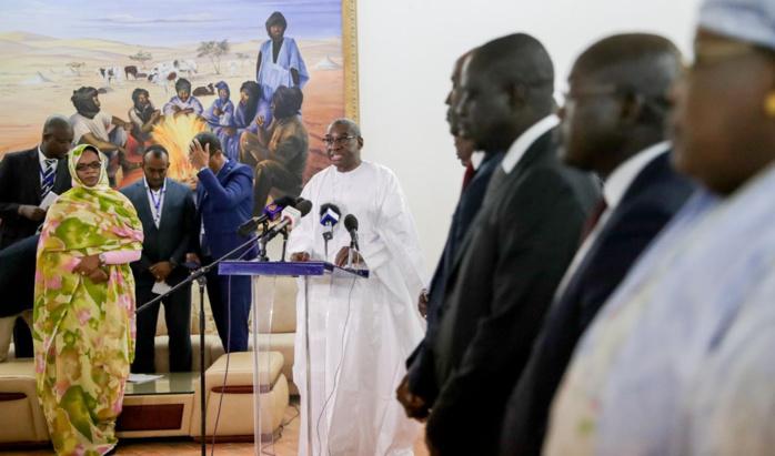 Communiqué conjoint de la visite officielle de travail du Président Macky Sall en Mauritanie