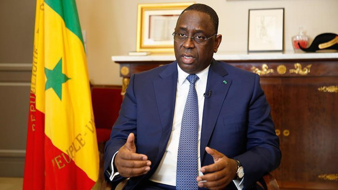"""Macky Sall répond à l'opposition depuis Nouakchott : """"je suis au service de l'intérêt des Sénégalais"""""""