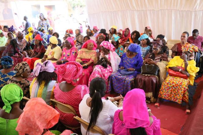 Maodo Malick Mbaye mobilise un réseau de 2.000 femmes, pour la réélection du président Sall en 2019.