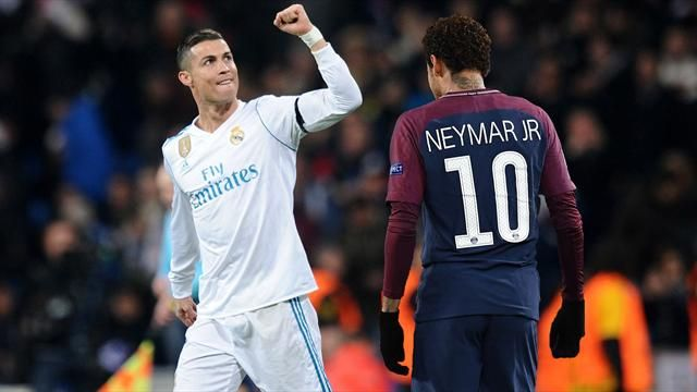 LIGUE DES CHAMPIONS : Ronaldo fêté, Neymar «emmerdeur professionnel»