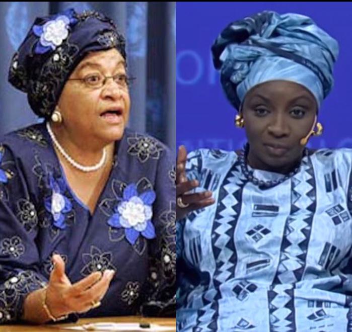 Ellen Johnson Sirleaf et Mimi Touré soutiennent l'initiative d'une coalition mondiale pour l'accès des femmes à l'information