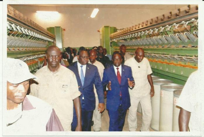 Ibrahima Macodou Fall annonce la création de la Compagnie Maroco Sénégalaise de textile (COMASET) et le projet du Parc Industriel et Artisanal de Thiès (PIAT)