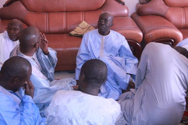 TOUBA / Les images de la visite de courtoisie que Cheikh Bass Abdou Khadre a effectuée chez Serigne Moustapha El Hadj Bara