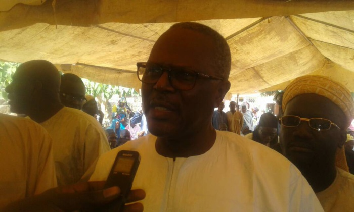 Cérémonie funèbre en l'honneur du défunt motard : Ousmane Tanor Dieng rend hommage aux forces de sécurité et de défense