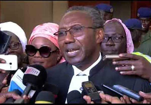 """Procès Khalifa Sall : Me Doudou Ndoye dénonce le """"vide du dossier"""""""