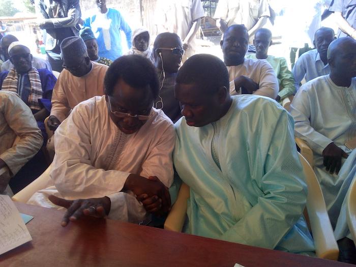 SANDIARA : Me El Hadj Oumar Youm et Serigne Guèye Diop montrent la voie aux Apéristes