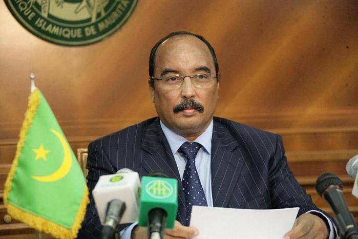 """Les présidents mauritanien et sénégalais ont """"la sagesse de résoudre tout conflit entre nos deux pays"""" (Abdel Aziz)"""