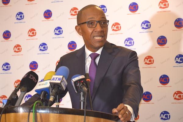 Sortie du ministre de l'intérieur Aly Ngouille Ndiaye sur la présidentielle : ACT exige sa démission du gouvernement