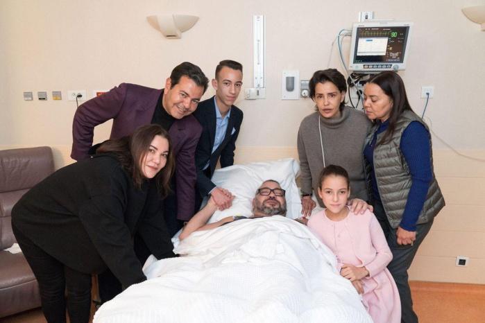 L'étonnante photo de Mohamed VI après son opération du cœur