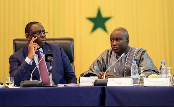 Concertation sur le Processus électoral : Le Président Macky Sall adresse ses félicitations au ministre de l'Intérieur
