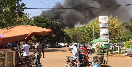 Attaque de Ouagadougou / Le bilan s'alourdit : 6 assaillants tués et 7 forces de défense et de sécurité décédés, dont 5 à l'état-major et 2 à l'ambassade de France