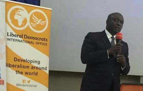 Le discours prononcé par Idrissa Seck à l'assemblée générale du réseau libéral Africain ce Samedi 03 Mars 2018 à Accra