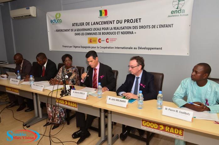 Droits des enfants : Un projet de renforcement de la gouvernance locale pour la réalisation des droits des enfants lancé