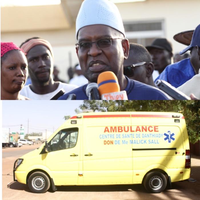 Santé : L'Hôpital de Ourossogui doté d'une ambulance médicalisée de dernière génération