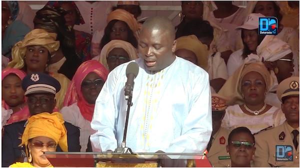 Célébration de la Journée internationale de la Femme : Recevant Macky Sall, Bamba Fall s'en tient à son discours de bienvenue