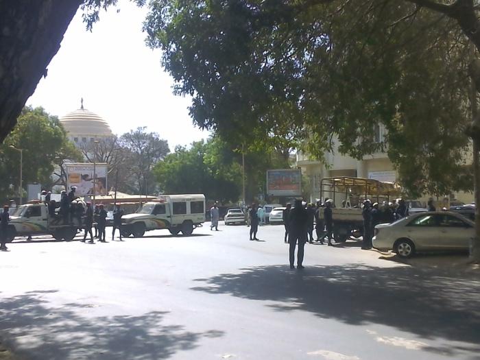 Marche de l'opposition : Dakar ville sous haute surveillance policière