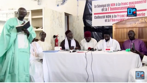 L'homosexualité tolérée au Sénégal ? / Le Collectif NON à la franc-maçonnerie prend le Pm au mot