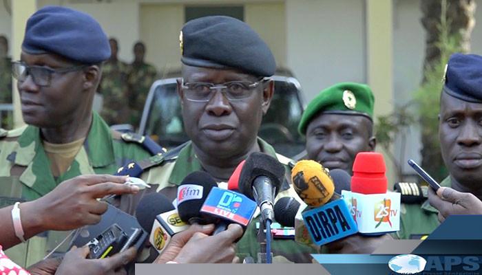 Kaolack : Le CEMGA insiste sur la prise en charge de l'hébergement des militaires