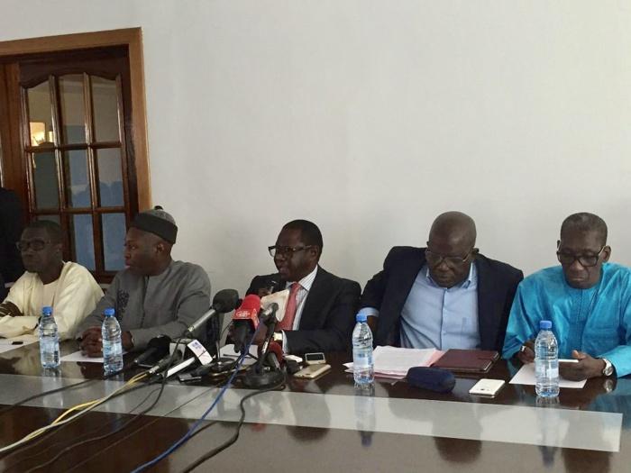 La libération des personnes arrêtées : l'autre combat de l'opposition qui a marché pour le départ de Aly Ngouille Ndiaye (communiqué)