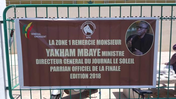 Yakham Mbaye, parrain officiel, Bamba Fall, Alioune Ndoye, Cheikh Bâ se disputent la Zone 1, Niayes Thioker et Damels