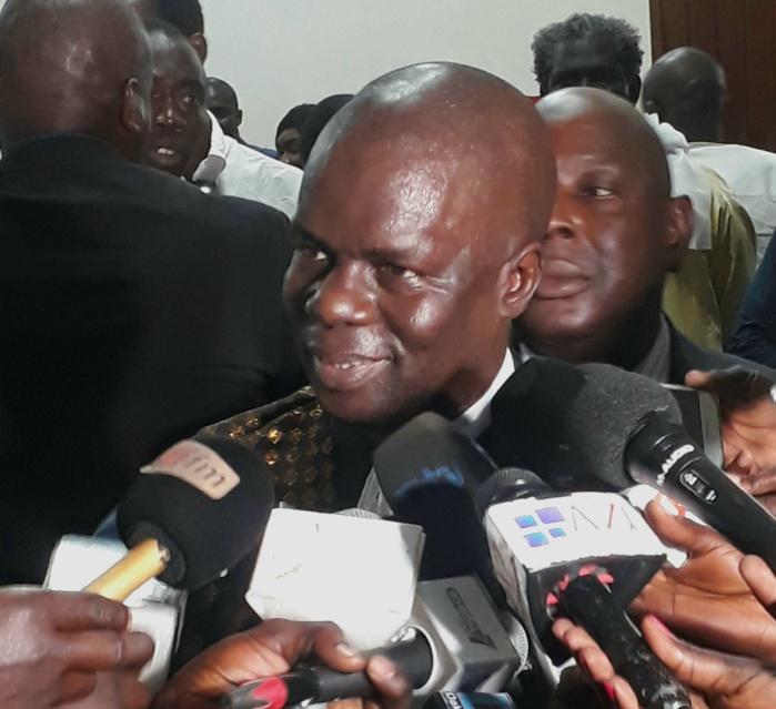Cour des comptes : Le premier Président  Mamadou Faye officiellement installé