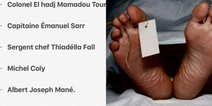 Kaolack: La longue liste des personnes décédées après le crash de l'hélicoptère de l'armée sénégalaise( 08 morts dont 3 non identifiés)