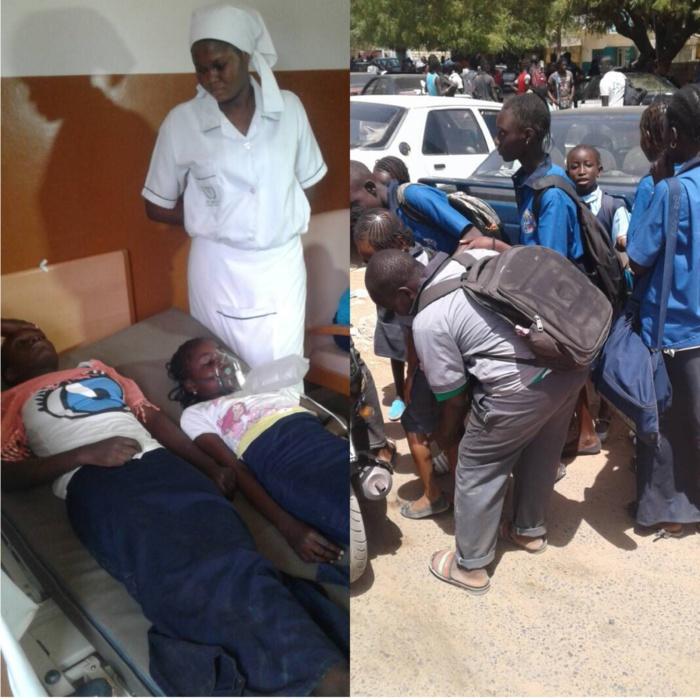Grève des taximen de Mbour : les lacrymogènes de la police touchent encore des élèves