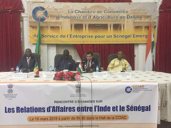 L'Inde et le Sénégal élargissent leur coopération dans plusieurs domaines d'activités...