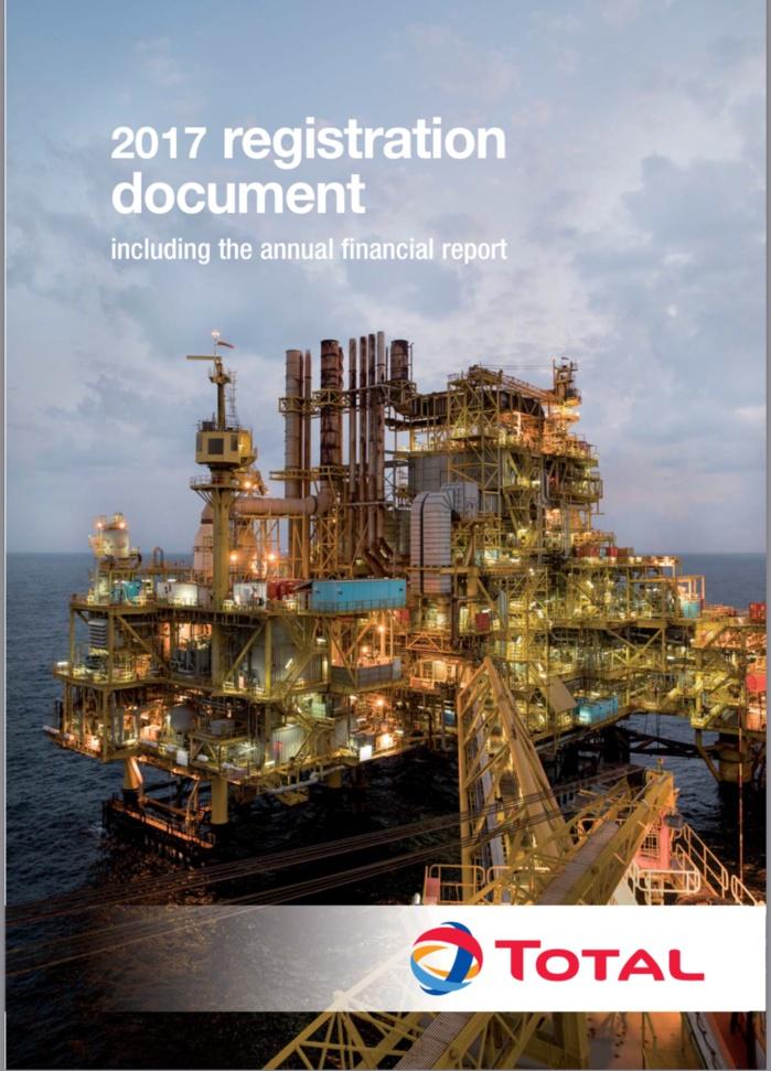 TOTAL-Rapport d'activités 2017 : révélations sur Rufisque Offshore Profond (DOCUMENTS)