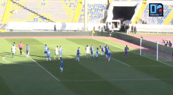 Sénégal-Ouzbékistan : 0-1 (mi-temps) / Statistiques favorables aux Lions