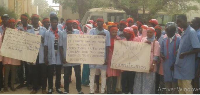 Kaolack : Mouvement d'humeur des étudiants du centre régional de formation en santé
