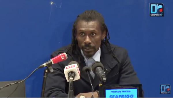 Aliou Cissé à propos des deux matches de préparation : « Le bilan, il est plutôt positif »