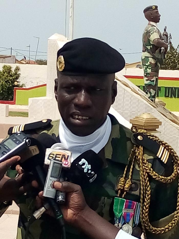 Saint-Louis / Remise de drapeau aux 1097 soldats du contingent  2018 / 1 du 12ème Bataillon  : Les autorités militaires de Dakar-Bango satisfaites de  la formation.