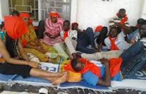 Mairie de Kaolack : Trois grévistes de la faim évacués à l'hôpital
