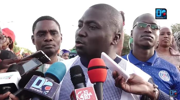 """Bamba Fall : """"C'est une honte pour la République. Je suis très déçu, mais pas très surpris"""""""